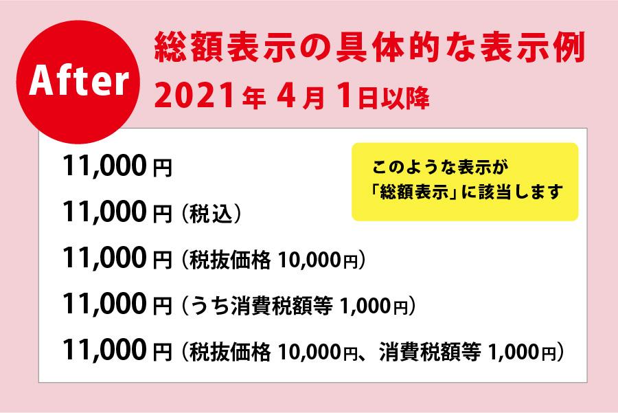義務 総額 表示 No.6902 「総額表示」の義務付け|国税庁